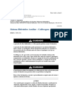 Sistema Hidráulico Auxiliar - Calibragem