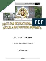 Metalurgia Del Oro Presentacion