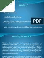 Legislação_aula 02 -Hierarquia Das Leis _Clarissa Pais