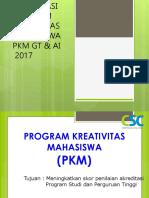 Sosialisasi Pkm 2016