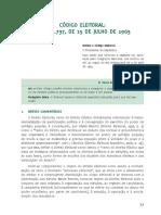 CÓDIGO ELEITORAL Para Concursos - p. 11-33