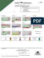 Calendario Definitivo 2017-18