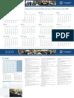 CGR calendario_2009