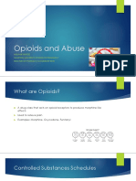 opioids and abuse- ippe institutional presentation