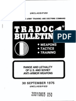 TRADOC Bulletin 1 Range and Lethality of U.S. and Soviet Anti-Armor Weapons