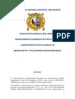 Medidas de PH y Titulaciones Potenciométricas
