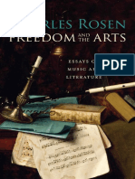 Charles Rosen Freedom and the Arts Essays on Music