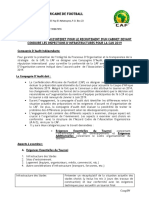 Guidelines for Audit Company- Afcon 2019 French