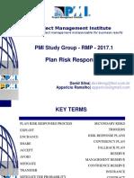 PMIPE 2017 1 Plan Risk Responses VF