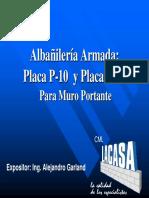 Placa P-10 P-14