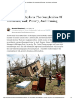 A New Study Explores the Complexities of Tornadoes, Risk, Poverty, And Housing