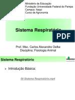 Fisiologia Animal - Sistema Respiratorio 4