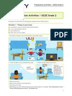 SELT GESE Grade 2 - Preparation Activities