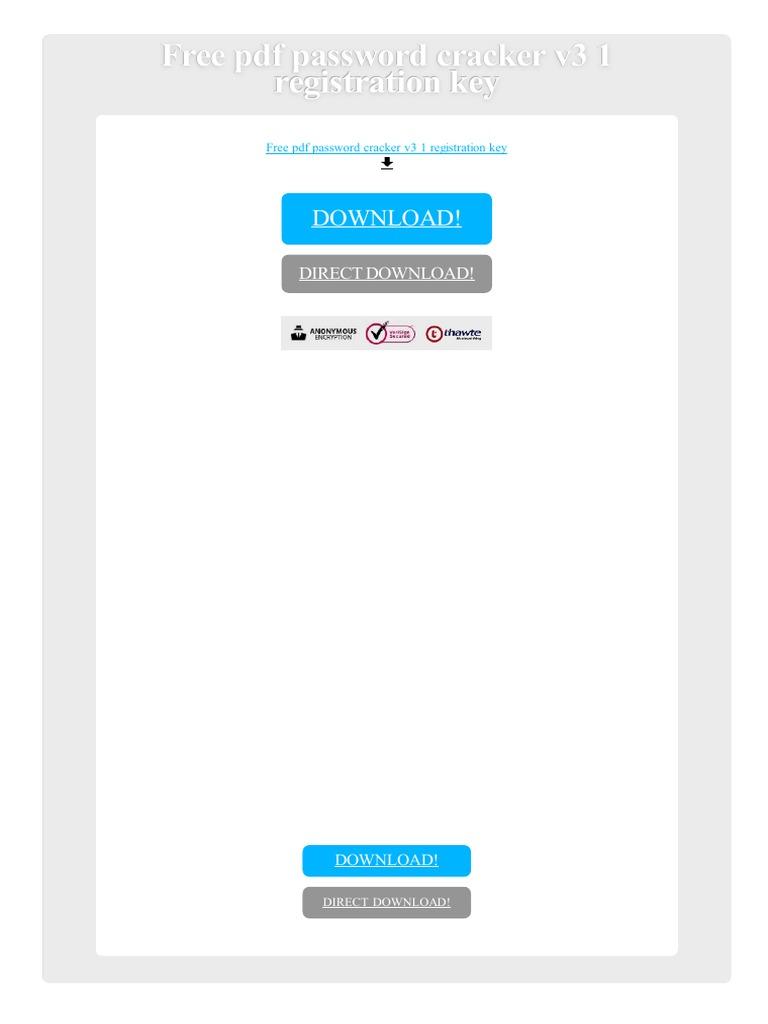 wondershare pdf password remover registration key