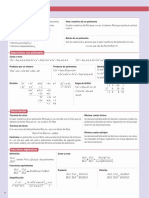 resumenm polinomios