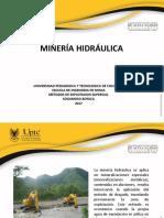 mineria hidraulica