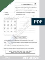 CC Sociales, Tema 1, Actividades de Refuerzo