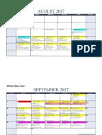 ap biology 17-18 calendar