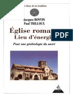 Jacques Bonvin - Paul Trilloux - Eglise romane Lieu d energie.pdf