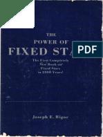 Joseph E. Rigor - The Power of Fixed Stars PESQUISAVEL