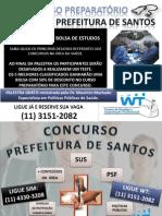 Concurso Prefeitura de Santos 2010 - Palestra Grátis