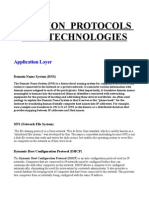 Common Protocols and Technologies(2)
