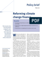 ODI-Reforming Climate Change Finance