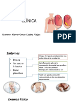 Linica y Diagnostico Derrame Pleural
