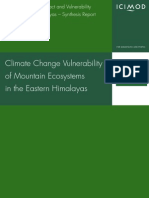 Climatevchangevvulnerability and Mountain Ecosystem