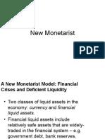 Chapter 13 New Monetarist Theory