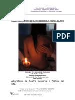 TEATRO DE LA SENSACIÓN-Taller-laboratorio de Teatro Sensorial ó Poetica Del Rito