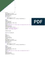 Bode Plot Matlab Code