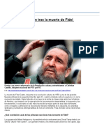 Vigencia y Críticas a La Revolución Cubana