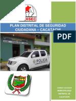 Plan de Seguridad Ciudadana 2017