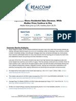 Southeast Michigan September 2017 Housing Market Overview