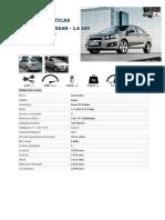 Caracteristicas Tecnicas Del Chevrolet Aveo 1600