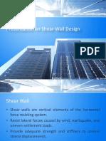 Shear Wall Design By Mohammad Shehab Bhuiyan (Civil, LU.)