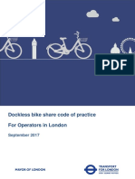 Dockless Bike Share Code of Practice September 2017