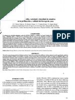 Influencia de sitio, variedad y densidad de siembra