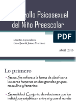 Desarrollo Psicosexual Del Niño Preescolar