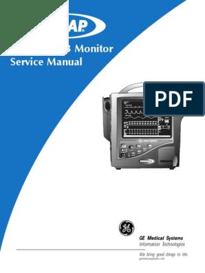 dinamap xl operating manual on