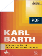 Barth, Karl - Introducao a Teologia Evangelica