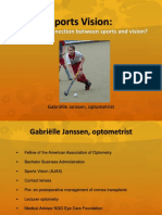 Sports Vision G. Janssen