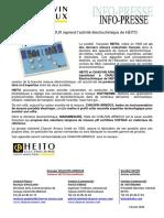 Info Presse Heito CA Ed1