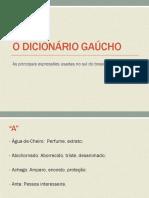 O Dicionário Gaúcho