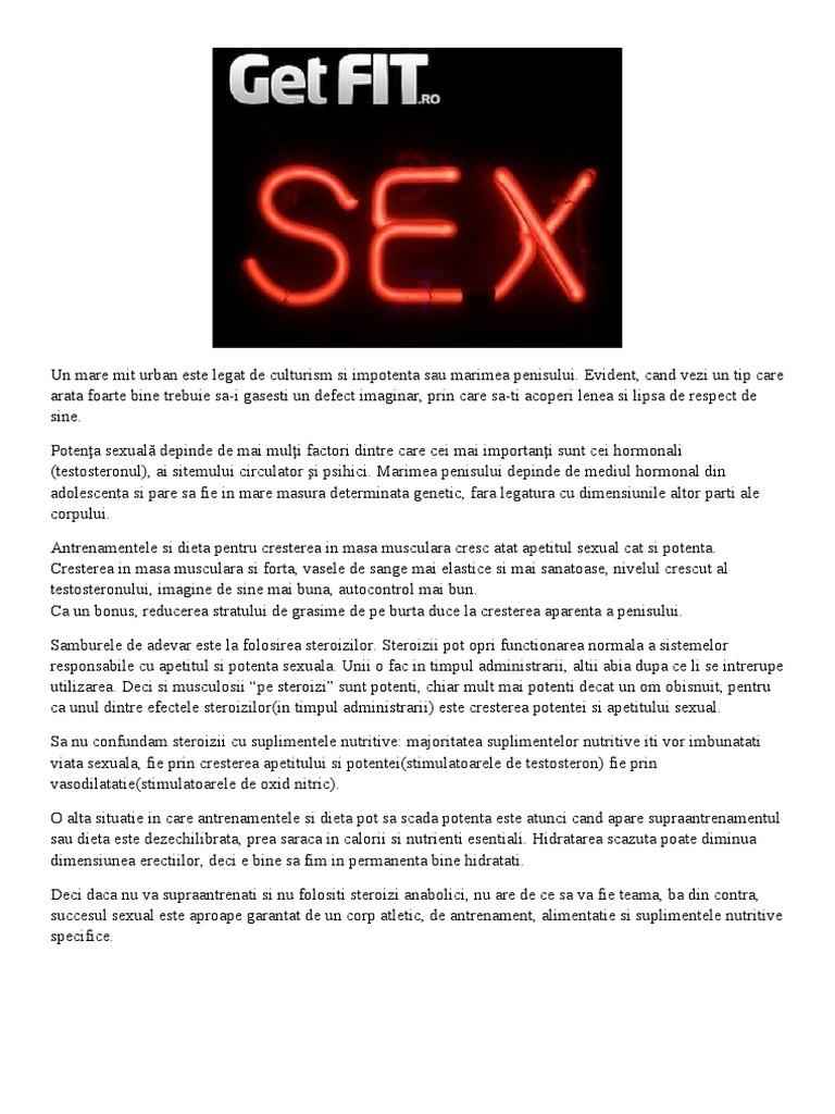 penis după antrenament un bărbat de 50 de ani are o erecție