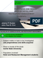 Thesis Proposal Presentation Format
