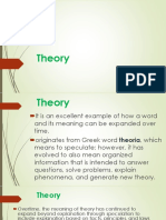 THEORY pp