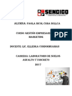 GESTION EMPRESARIAL Y MARKETING