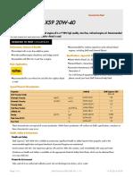Shell Caprinus XS9 20W-40 (en) TDS